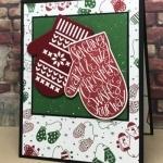 Smitten Mittens Christmas Card