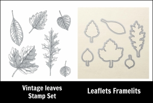 Vintage Leaves and leaflets Framelits