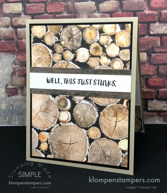 Masculine Cards Using Designer Series Papers
