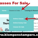 Online Stamping Classes–Great Way To Get New Ideas!