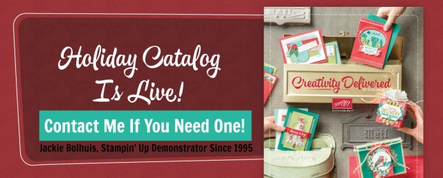 2017 Holiday Stampin' Up! Catalog