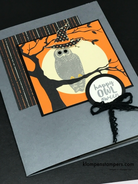 Spooky Cat by Stampin' Up! So many different fun things you can do with it!