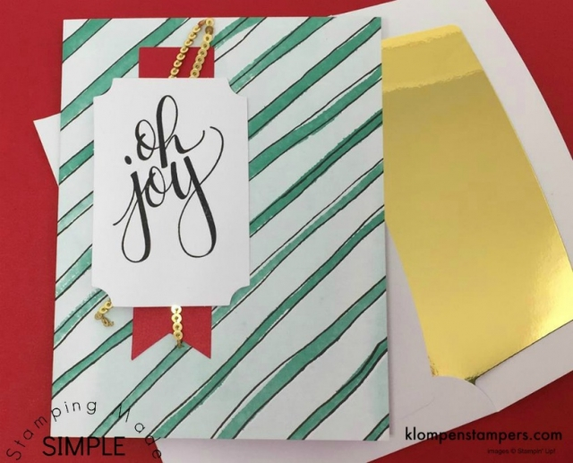 Watercolor Christmas Project Kit from Stampin' Up!