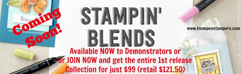 Stampin' Up! Alcohol Markers Have Arrived