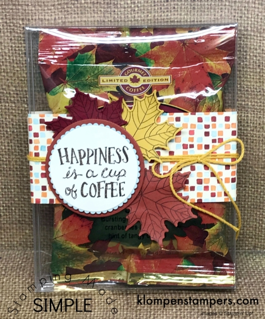 Cute (and easy) gift for someone special using Acetate Card Boxes from Stampin' Up!