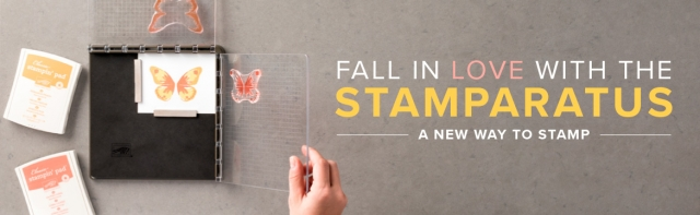 Stampin' Up! Stamparatus is like nothing else!
