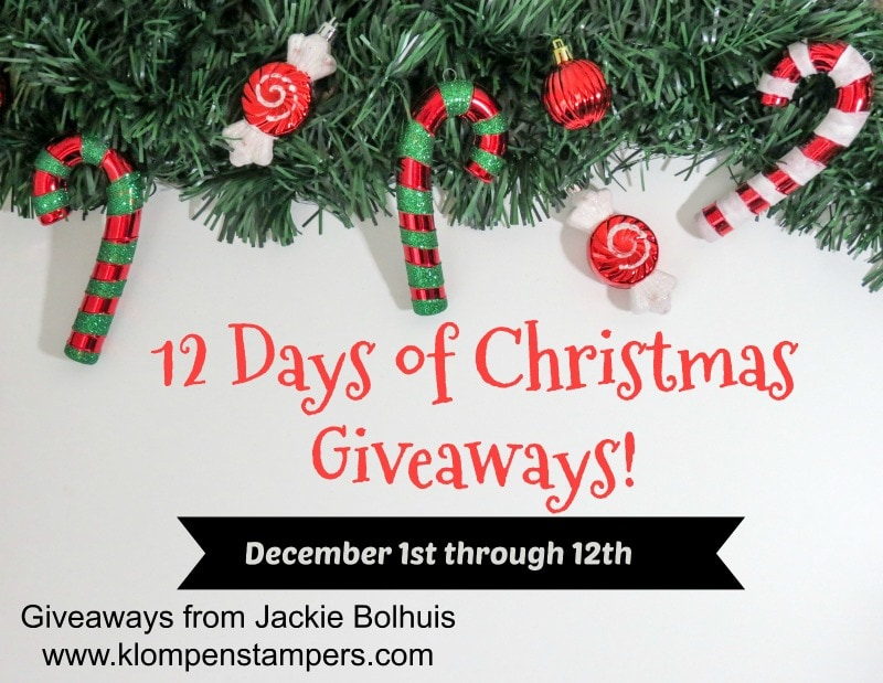 12 Days of Christmas Giveaways Begins Tomorrow
