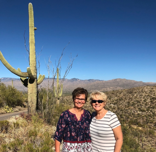 Arizona Fun with Sharon