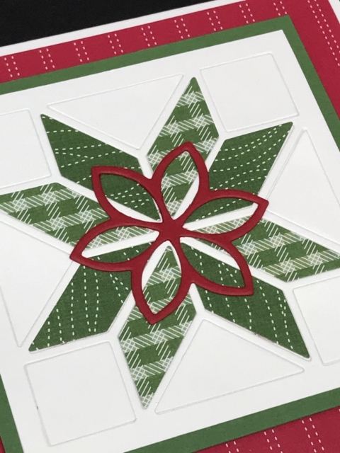 Christmas Quilt by Stampin' Up! is so fun and easy to make stunning cards for all your friends and family.