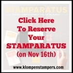 Introducing…the Stamparatus