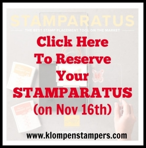 Reserve the Stamparatus at klompenstampers.com