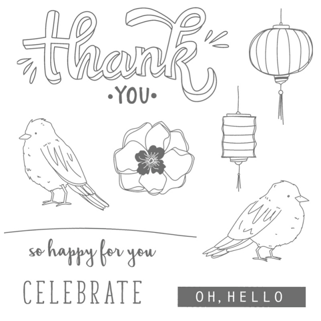 Color Me Happy stamp set is still available. Perfect for coloring with Stampin' Blends or any other way you love to color. Details about card are posted on website.