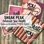 Celebrate You Thinlits-Get Free With Order in January