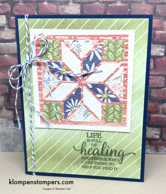 Christmas Quilt stamp set is my favorite. Tons of samples and ideas!