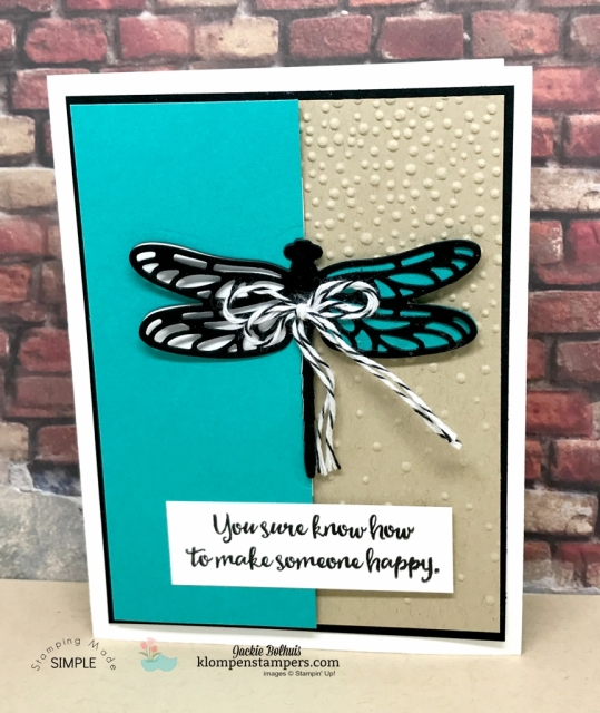 Dragonfly Dreams tutorial and online stamping class.