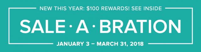 Free items with purchase during Sale-a-bration