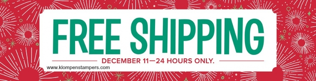 Free shipping on all orders December 11 plus free gift with purchase