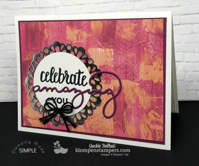 Celebrate With Sale-a-bration & Coordinating Products