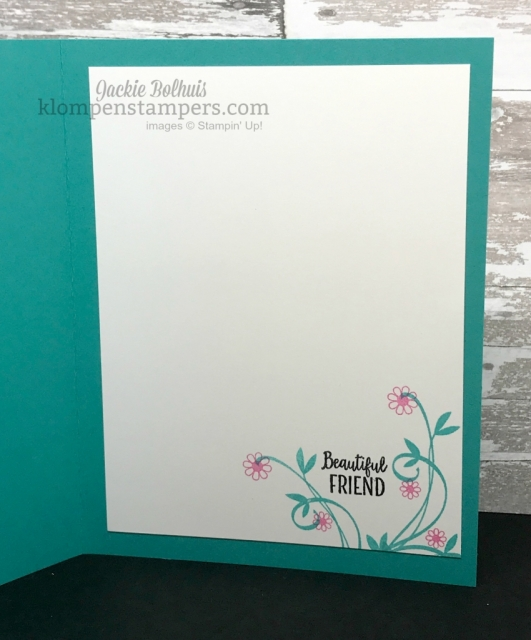 Beautiful Peacock makes quick and easy cards. Get this set for FREE during Sale-a-bration