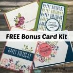 Perennial Birthday Online Class + Card Kit