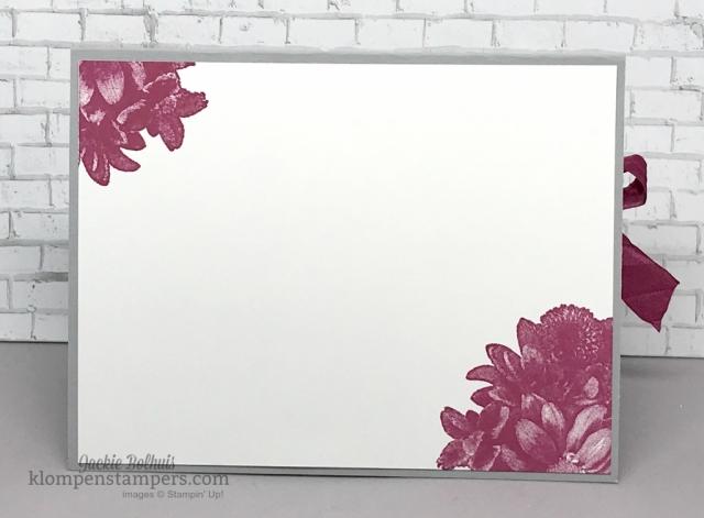 Heartfelt Blooms stamp set is a freebie you can get during Sale-a-bration. Details at klompenstampers.com