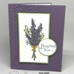 Quick & Easy Stamping Tips Using Lots of Lavender