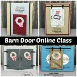 Barn Door Online Class & Card Kit