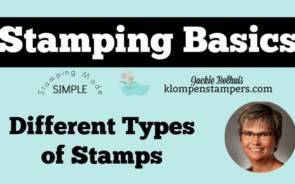 Stamping Basics – Different Types of Stamps