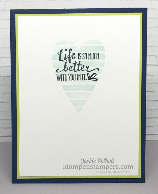 Tips for finding color combinations using Heart Happiness stamp set and Stampin' Up! DSP