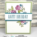 Perennial Birthday Quick & Easy Card
