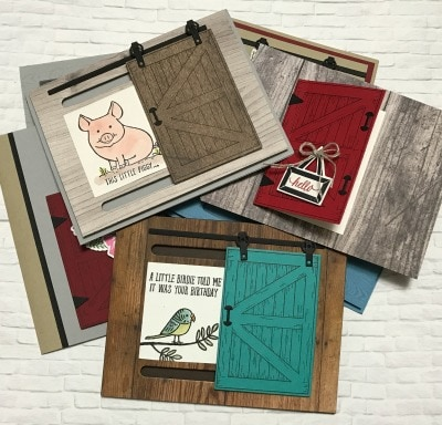 a-number-of-handmade-cards-by-jackie-bolhuis-using-stampin-up-barn-door-bundle-