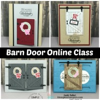 Tutorial & Video for 4 projects using Barn Door Bundle