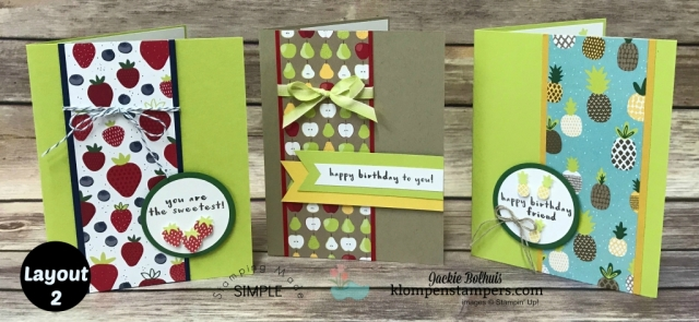 Card Ideas Layout 2-Tutti Frutti Paper