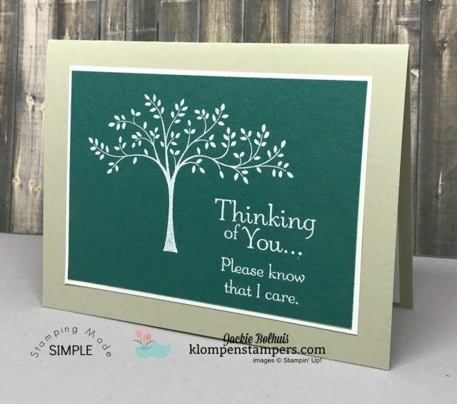 Video showing how to heat emboss using Thoughts & Prayers stamp set. Created by Jackie Bolhuis, Klompen Stampers #jackiebolhuis #klompenstampers