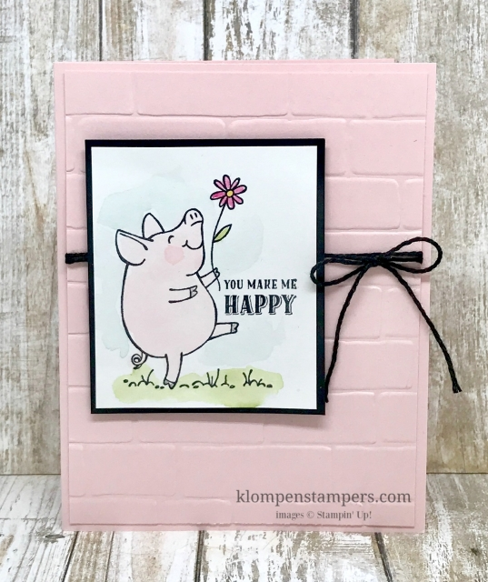 This Little Piggy card collection tutorial