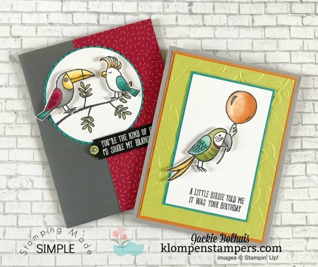 Bird Banter Stampin Up
