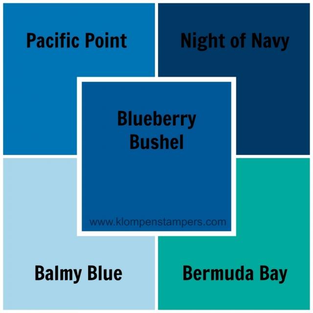 Blueberry Bushel new Stampin' Up! color