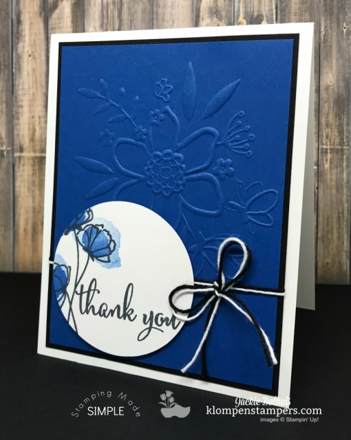 Love What You Do + Blueberry Bliss NEW Stampin Up Color