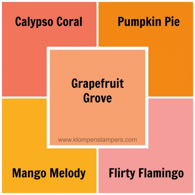 Stampin' Up! Grapefruit Grove new color