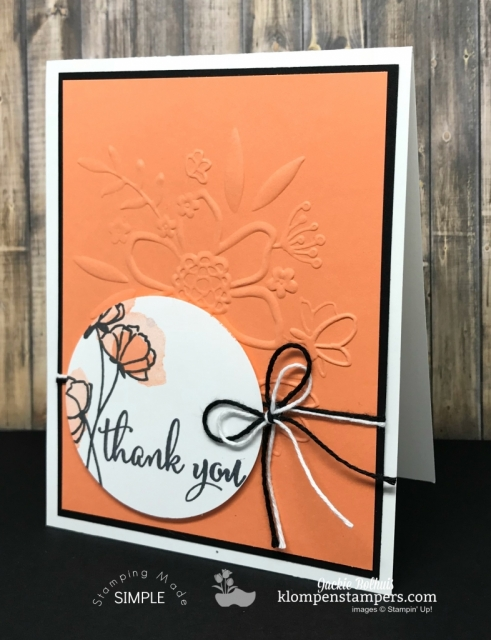 Love What You Do + Grapefruit Grove NEW Stampin Up Color