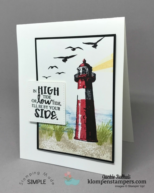 High Tide stamp set and Stamp-a-ma-jig
