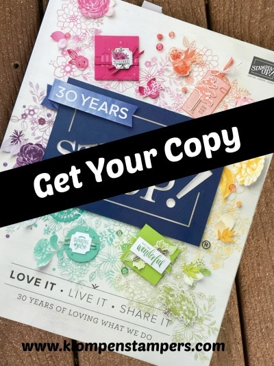 Get your copy of the 2018-2019 Stampin' Up! Catalog!