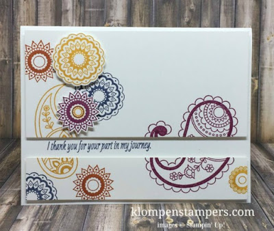 Paisleys & Posies Stampin' Up