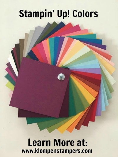 New Stampin' Up! Colors Are Coming!