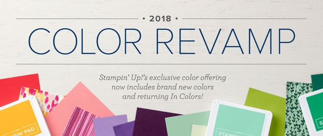 All information about Stampin' Up! Color Revamp