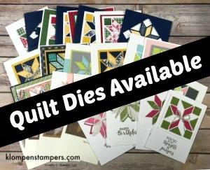 Quilt Builder Framelits Still Available!