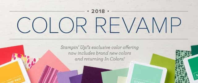 Stampin' Up! color Revamp