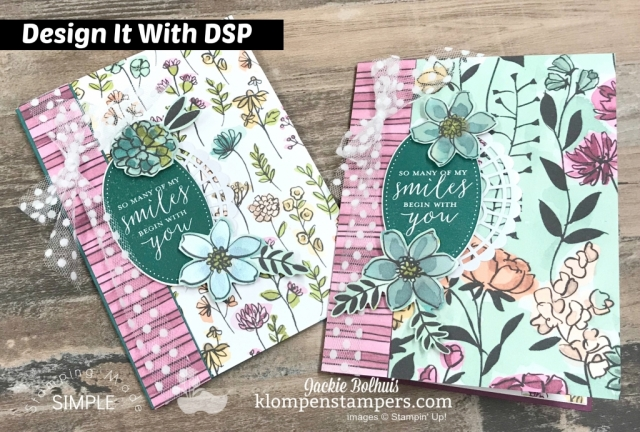 Design it with DSP - Share What You Love. Quick & easy card with DSP
