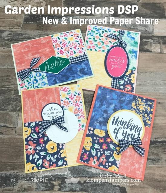 Paper Share-Garden Impressions Designer Paper