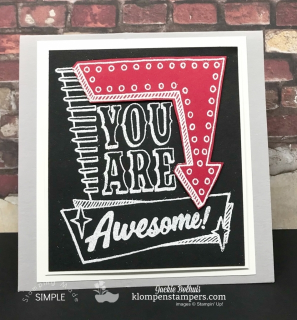 Marquee Messages Stamp Set